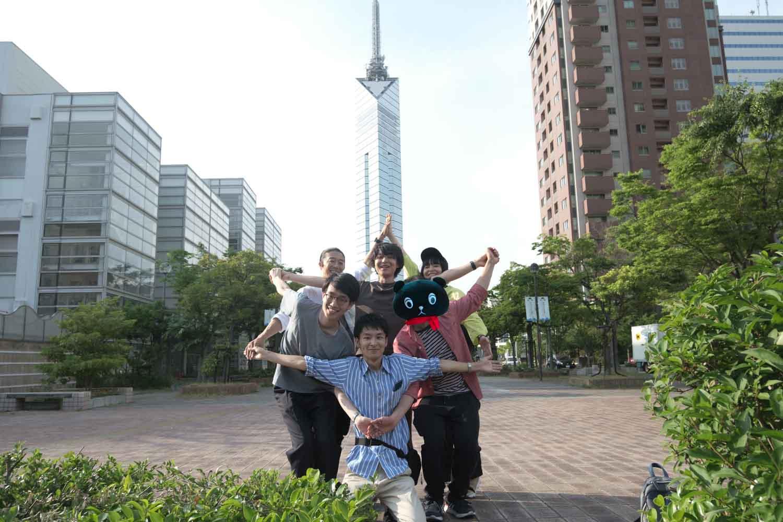 福岡タワーが見えるところで3班が星になる!?