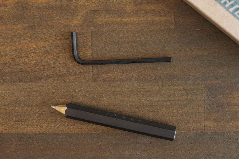 TETZBO CHIBY ネジなどがないので六角レンチで替芯を交換