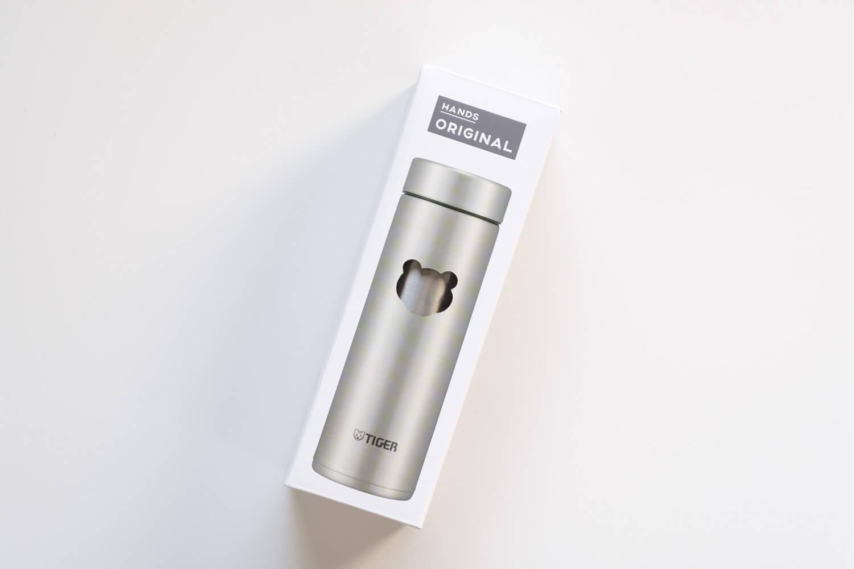 タイガー魔法瓶  ステンレスミニボトル サハラマグ 0.3L 東急ハンズ限定カラーの箱