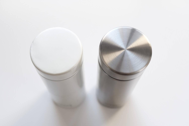タイガー魔法瓶  ステンレスミニボトル サハラマグ 0.3L 東急ハンズ限定カラーと通常の違い(1)