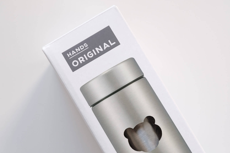 タイガー魔法瓶  ステンレスミニボトル サハラマグ 0.3L 東急ハンズ限定カラーのロゴ