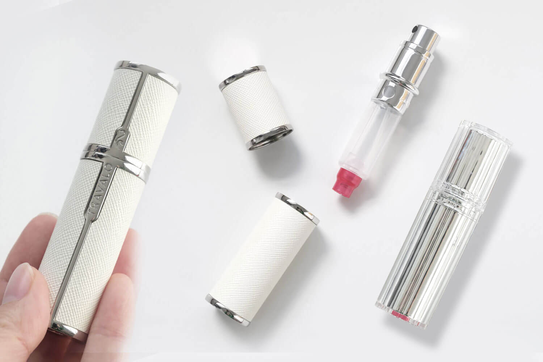 【レビュー】プッシュして簡単に香水を入れられる!TRAVALOのアトマイザーはボトルが外れて便利[PR]