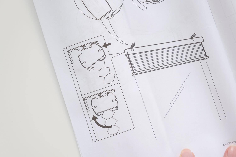イケア TRIPPEVALS(トリッペヴァルス)は取り付け金具に簡単に取り付けできる