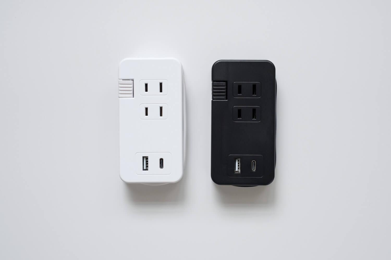 ミヨシ USB-ACアダプタ type-c カラーはホワイトとブラック