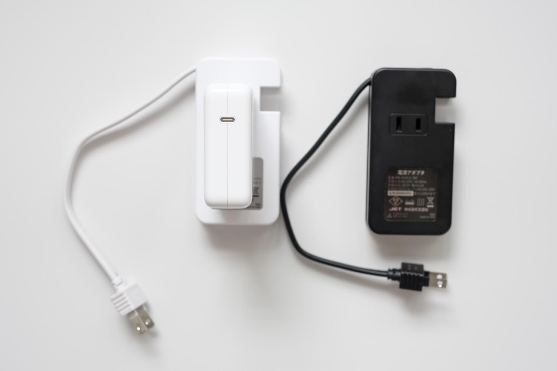 ミヨシ USB-ACアダプタ type-c そういうときは裏側のコンセントを使いましょう