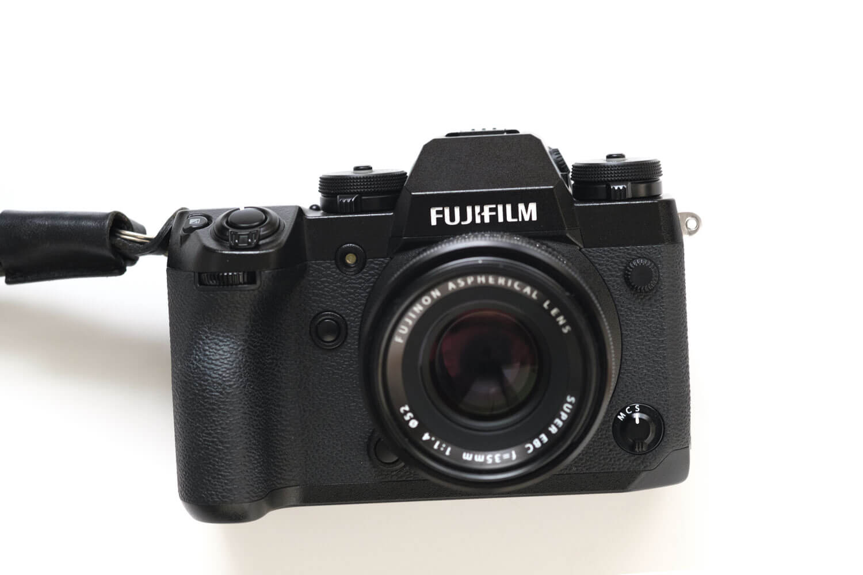 富士フイルム X-H1とXF35mm F1.4の組み合わせ