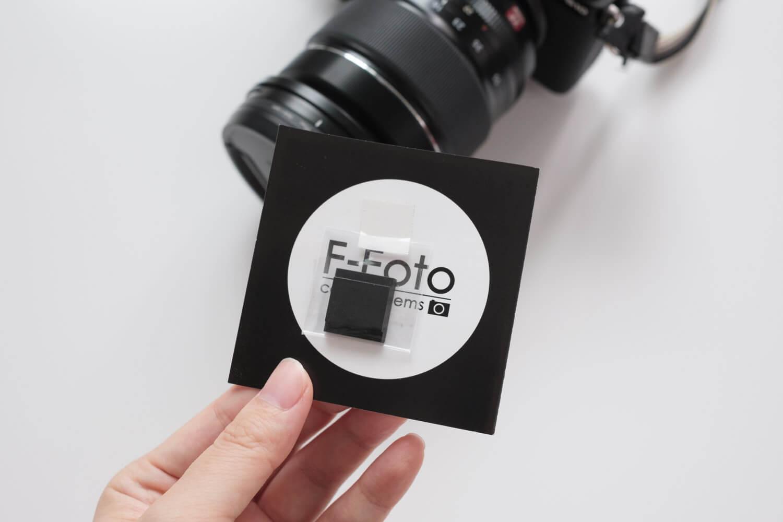 F-FOTO メタルホットシューカバー シンプルがお気に入り