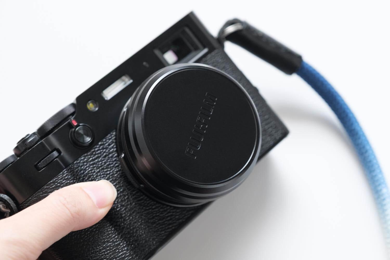 NiSi UHD UVフィルター X100シリーズ用は純正キャップを取り付けられるのが魅力