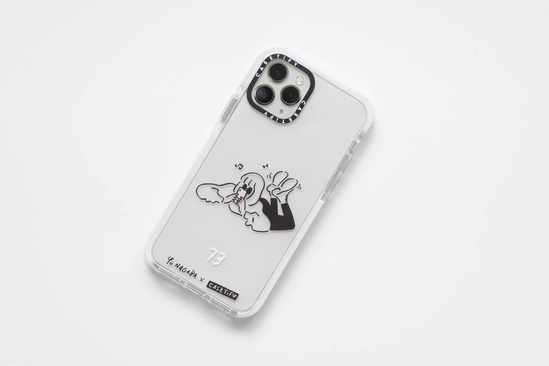 Yu Nagaba(長場雄)×CasetifyコラボのiPhoneケースをiPhone11Proに取り付けたところ