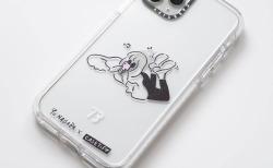 Yu Nagaba(長場雄)×CasetifyコラボのiPhoneケースを取り付けるとAppleマークが少し隠れる